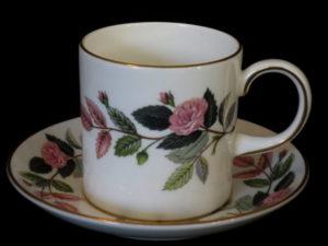 Koffiekop en schotels